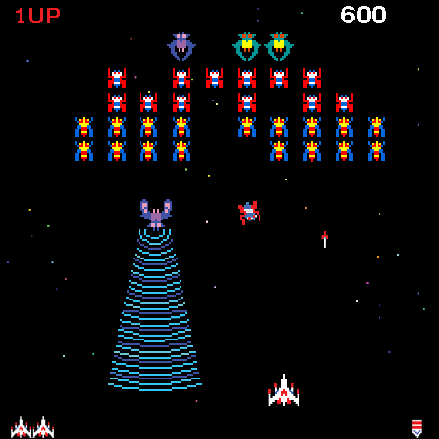 galaxy space invaders game